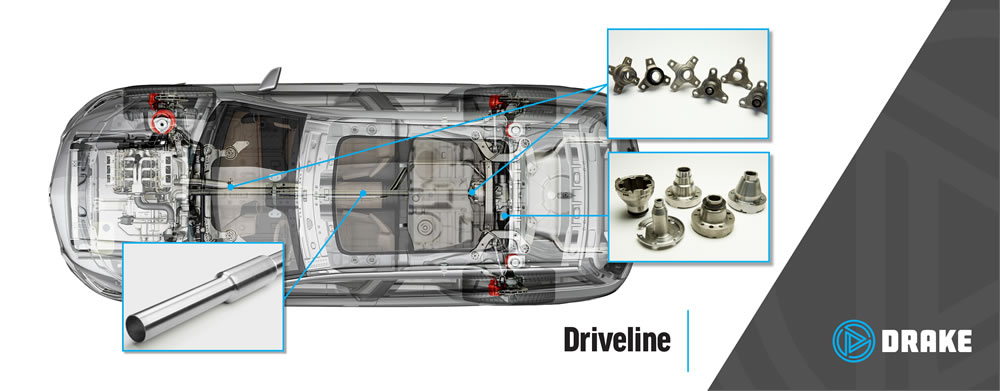 Drake Driveline Products